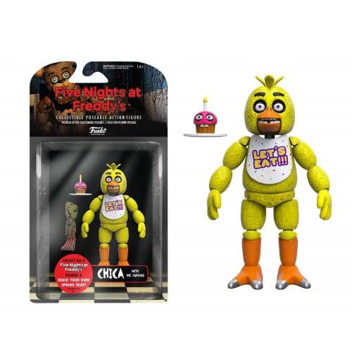 Funko Action Figures: Five Nights at Freddy`s - Chica Συλλεκτική Φιγούρα Δράσης από Βινύλιο 8847 849803088477
