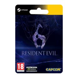 CAPCOM Resident Evil 6  4251216623347