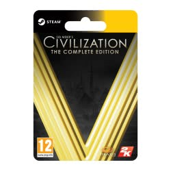 TAKE 2 Sid Meiers Civilization V Complete Edition  4251216614253