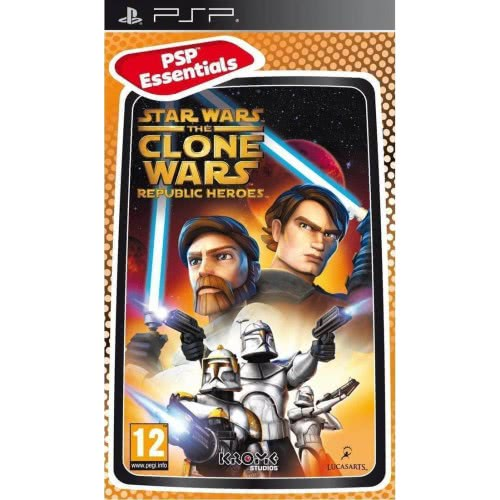 Activision PSP Star Wars The Clone Wars Republic Heroes Essentials . 023272010782