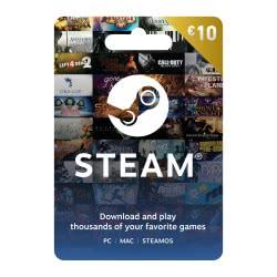 Valve Steam 10Euro Prepaid Card Προπληρωμένη Κάρτα  4251216616233