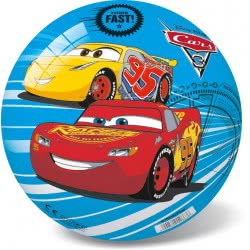 star Μπάλα Πλαστική, Παιδική Cars 3 Think Fast, Μπλε, 14Cm 12/2906 5202522129060