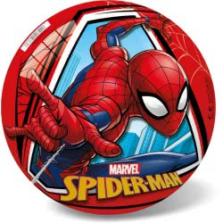 star Μπάλα Πλαστική Παιδική Marvel Spiderman Κόκκινη, 14Cm 17/2914 5202522129145
