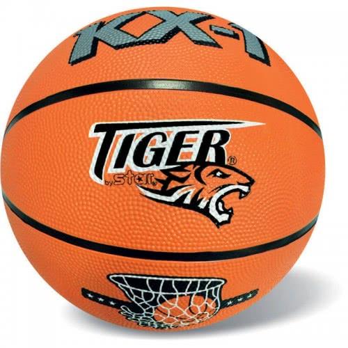 star Tiger Basketball Orange, Rubber, Size 7 37/300 5202522003001
