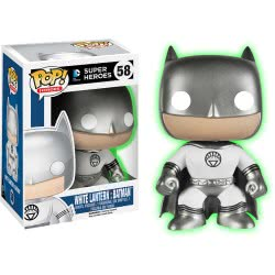 Funko Pop! Heroes: DC Super Heroes - White Lantern: Batman n.58 Φιγούρα από Βινύλιο(Glow in the Dark) 4596 849803045968