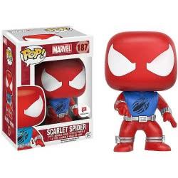 Funko Pop! Marvel - Scarlet Spider n.187 Συλλεκτική Φιγούρα Δράσης από Βινύλιο 11301 889698113014