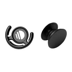 Popsockets Combo Pack Grip Stand and Mount Black για όλα τα κινητά 405000 859184004904
