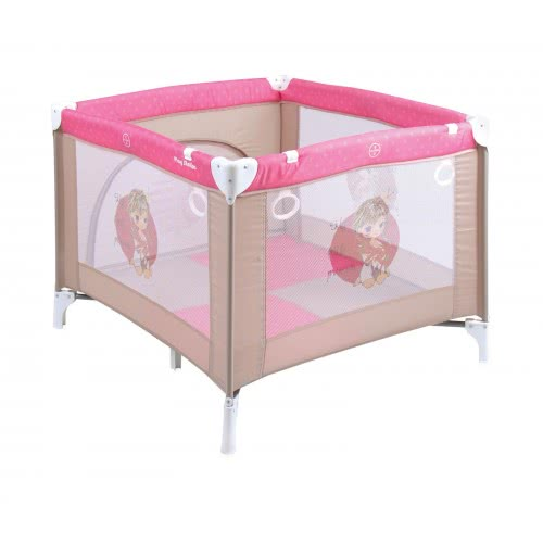 Lorelli Playyard  Play Station Beige And Rose Princess 1008040 1703 3800151904687