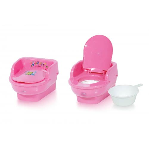 Lorelli Γιογιό Τουαλέτα Κάθισμα με καπάκι Throne Pink Little Bear 1013045 0189 3800151968085