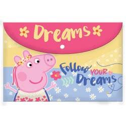 Diakakis imports Φάκελος Κουμπί Peppa Pig 482247 5205698253409