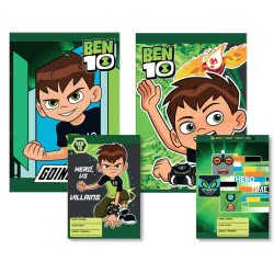Diakakis imports Stitched Notebook Ben 10 40Sheets 500227 5205698404801