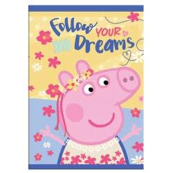 Diakakis imports Peppa Pig Stitched Notebook 482260 5205698404771