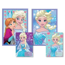 Diakakis imports Stitched Notebook Frozen 40Sheets 562039 5205698404689