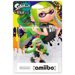 Nintendo Amiibo Φιγούρα Splatoon Inkling Girl Lime Green( Wii U/3DS/3DS XL) AMII-0178 045496380137