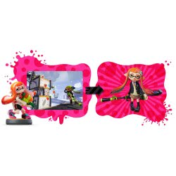 Nintendo Amiibo Φιγούρα Splatoon Inkling Girl( Wii U/3DS/3DS XL) AMII-0193 045496352943