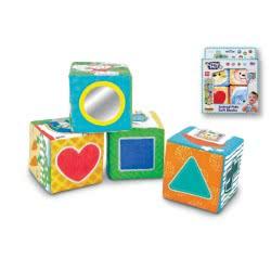 MG TOYS WinFun Μαλακοί Κύβοι με Ζωάκια - Animal Pals Soft Blocks 403154 5204275031546