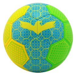 As company Soccer Ball Leather Fluo Spots 51018 5203068510183