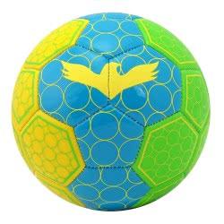 As company Soccer Ball Leather, Small, Multicolor Nano Fluo Spots 51021 5203068510213