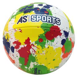 As company Volley Ball Leather Color Dots 51023 5203068510237
