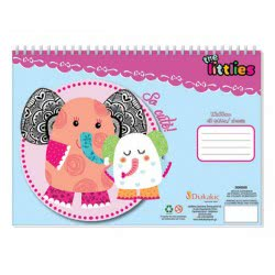 Diakakis imports Coloring Block The Littles - 2 Designs 646006 5205698236501