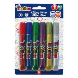 LUNA OFFICE LUNA The Littlies Glitter Glue 12gr., 6 Colors 646026 5205698237423