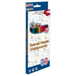 LUNA OFFICE LUNA The Littlies Colored Pencils 12 Colours 646082 5205698245060