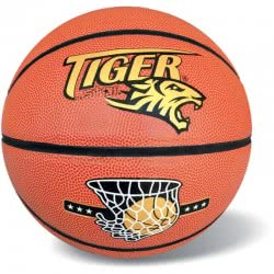star Leather Basketball Tiger, Size 7 37/331 5202522003315