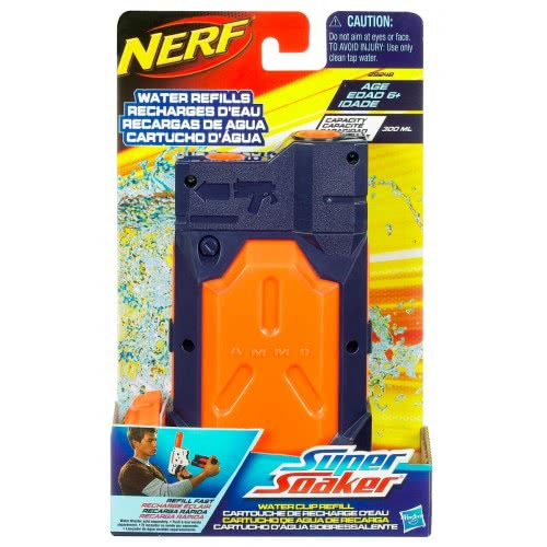 Hasbro Super Soaker Water Clip Refill Για Νεροπίστολα Nerf 29248 5010994618247