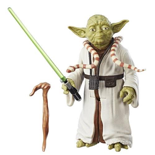 a15ed0e388 Hasbro Star Wars Episode 8  The Last Jedi Yoda Action Figure 30cm C1429    C3423