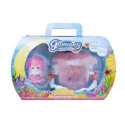 GIOCHI PREZIOSI Glimmies Aquaria - Glimquarius Ενυδρείο Και Κούκλα - 6 Σχέδια GLA04000 8056379047865