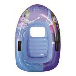 GIM Disney Frozen Sisters Inflatable Boat With Window And Handles, 102X69cm 871-58202 5204549108134
