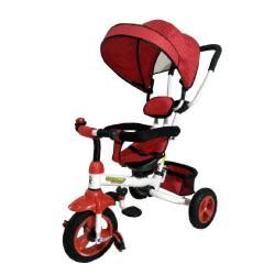 ZITA TOYS Ποδήλατο Τρίκυκλο Σπαστό(διπλώνει) με Περιστρεφόμενο Κάθισμα 360, Κόκκινο 016.901-1R 5204258086853