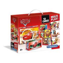 Clementoni Disney Pixar Cars: Cube Puzzle 12pc Multiplay 41505 8005125415052