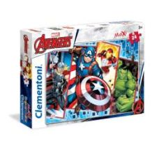 Clementoni Παζλ 24τεμ. Maxi Super Color Marvel - The Avengers 24495 8005125244959