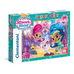 Clementoni Puzzle 60Pc Super Color Nickelodeon Shimmer And Shine 26969 8005125269693