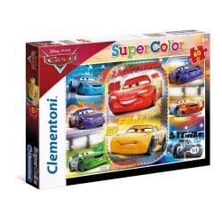 Clementoni Puzzle 60Pc Super Color Cars 3 Friends For The Win 26973 8005125269730