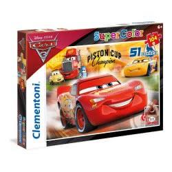 Clementoni Puzzle 104pc Super Color Cars: Racing Hero 27075 8005125270750