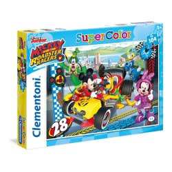 Clementoni Παζλ 104τμχ Super Color Mickey and the Roadster Racers 27984 8005125279845
