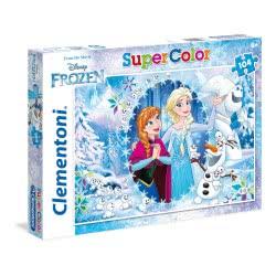 Clementoni Puzzle 104pc Super Color Disney Frozen 27985 8005125279852