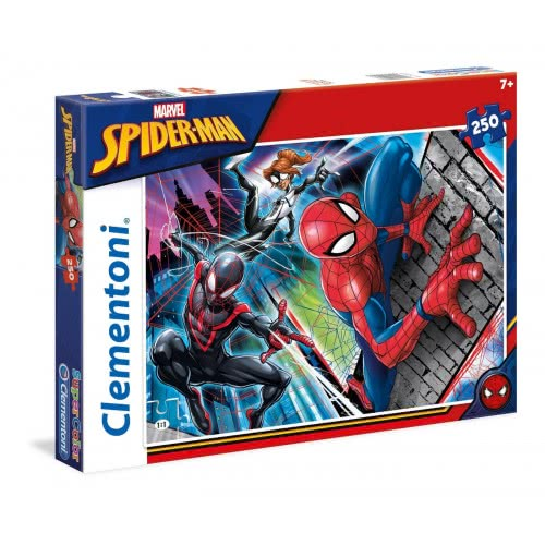 Clementoni Παζλ 250τμχ Super Color Spiderman 29053 8005125290536