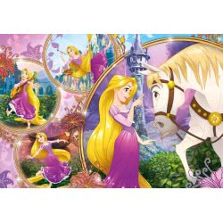 Clementoni Παζλ 250τμχ Super Color Disney Princess Tangled-Μαλλιά Κουβάρια 29739 8005125297399