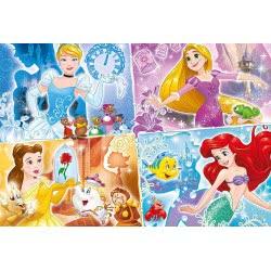 Clementoni Παζλ 250τμχ Super Color Πριγκίπισσες της Disney 29740 8005125297405