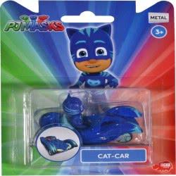 DICKIE TOYS PJ Masks Single Pack Cat-Car 7Εκ 203141000 4006333045462
