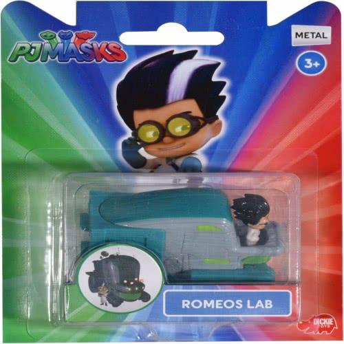 DICKIE TOYS PJ Masks Single Pack Romeo Lab 203141003 4006333045479