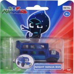 DICKIE TOYS PJ Masks Single Pack Night Ninja Bus 203141004 4006333045585