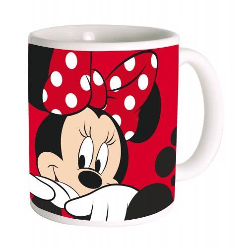 GIM Κούπα Κεραμική Απλή Minnie Dots 330ml 553-33101 5204549107267