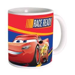 GIM Κούπα Κεραμική Απλή Cars 3 Movie Race Ready 330ml 552-96101 5204549105348
