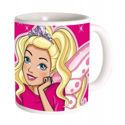 GIM Ceramic Mug Barbie Dream 330ml 571-13101 5204549107243
