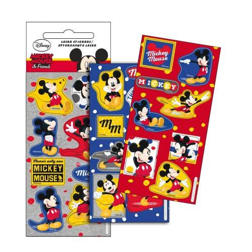 GIM Αυτοκόλλητα Laser Mickey Friends 773-12910 5204549105799