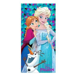 chanos Summer Towel Disney Frozen Anna and Elsa 70x140cm 4902 5203199049026